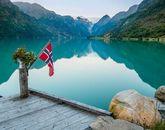 Норвежские фьорды-521795786