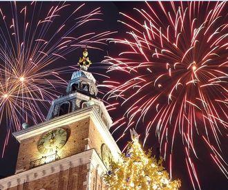 Новогоднее веселье в Кракове