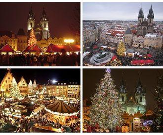 Встреча Нового 2018 года в Праге!