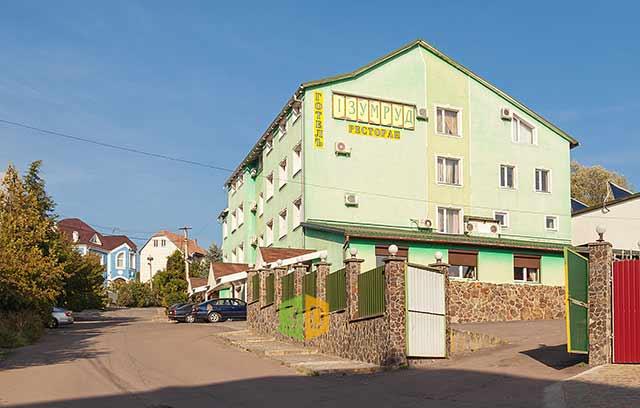 отель Изумруд 3*, Ужгород