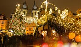 В Прагу на Рождество / один ночной переезд-947197926