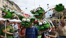 Парад Драконов в Кракове-977235444