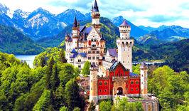 Города и сказочные замки Баварии-750442718
