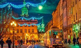 Новый год во Львове ж/д-1896289763