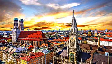 Города и сказочные замки Баварии-405699766