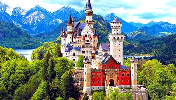 Города и сказочные замки Баварии-352123877