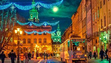 Новый год во Львове ж/д-358746753