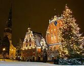 Новогодний карнавал в Балтийском море-146524713