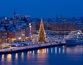 Новогодний карнавал в Балтийском море-695768898