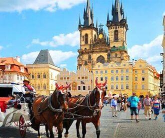 Прага  -Карловы Вары - Вена* - Дрезден* - Вышеград