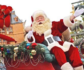 Новогодний карнавал в Балтийском море